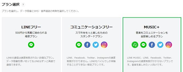 LINE MUSICオプション 新規契約