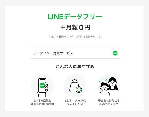 LINEデータフリー